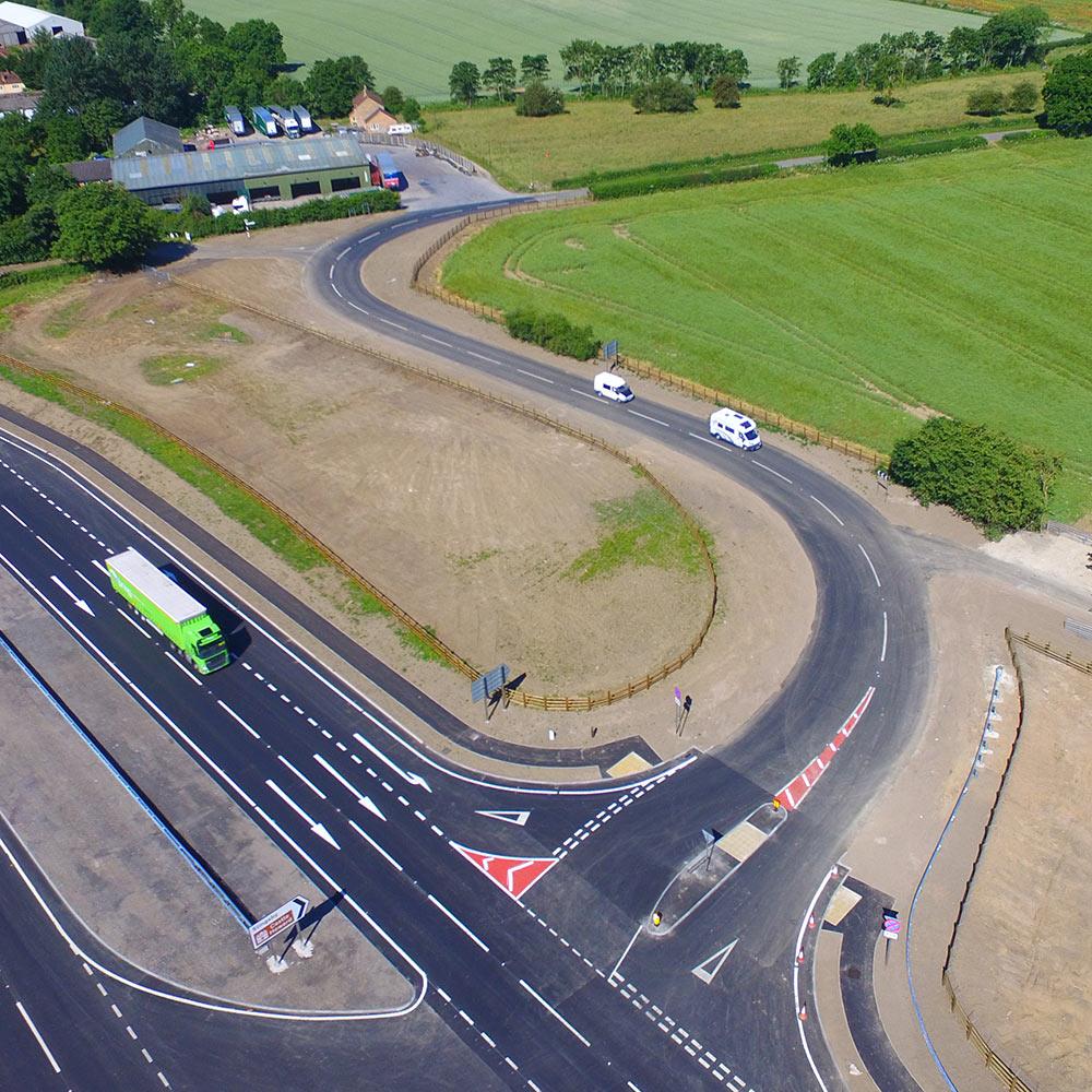 A64 Barton Hill feature