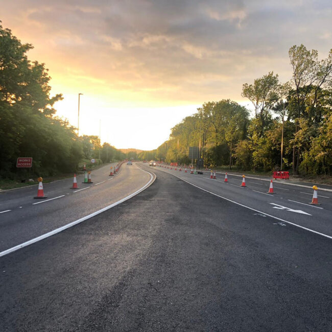 A46 Anstey Lane feature