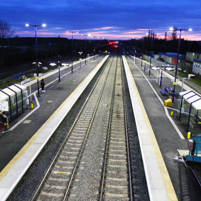 Barnetby Station feature